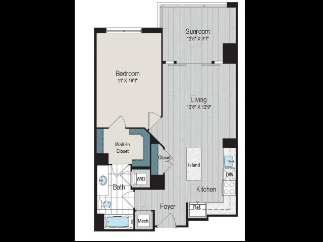 1B7a floorplan
