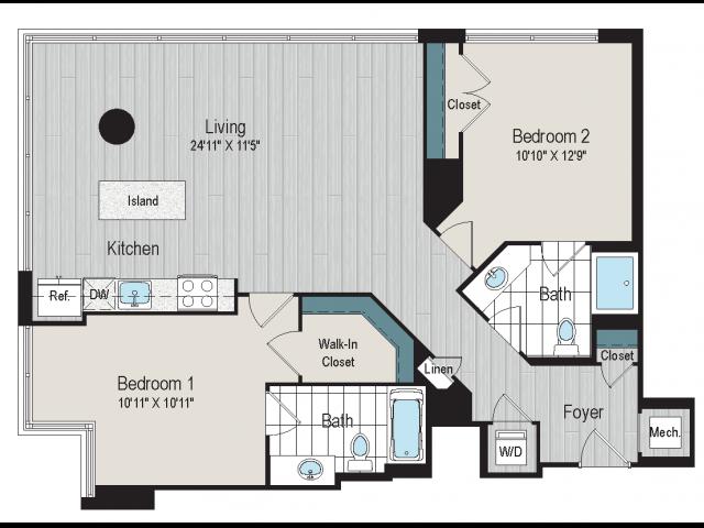 2B3 floorplan