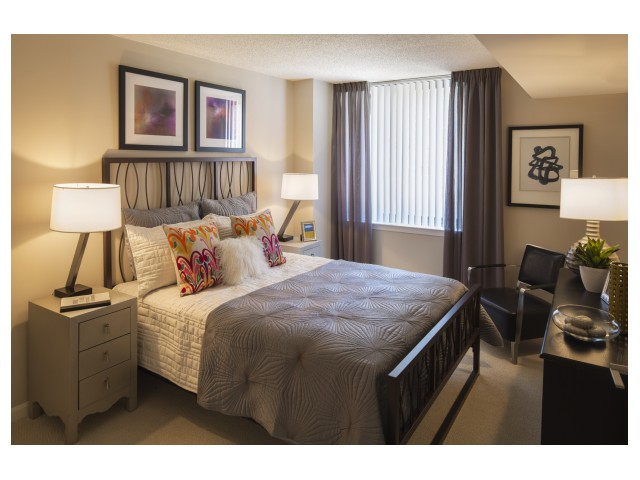 Carpeted Bedrooms