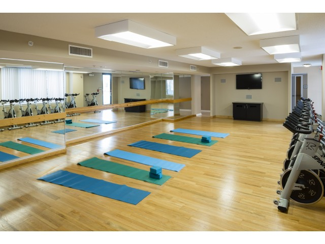 Spin Bike and Yoga Studio