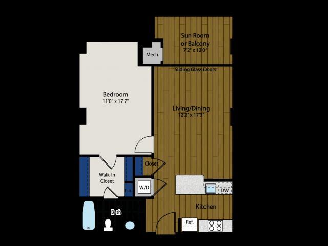 Floor Plan | Meridian at Braddock Station