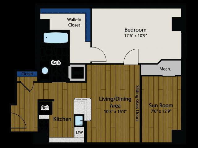 Floor Plan 4   Meridian at Gallery Place