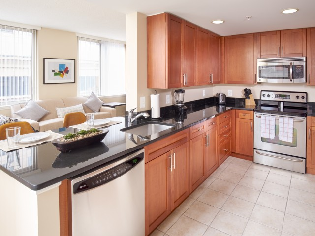 Light-filled Residences with Open Floor Plans | Carlyle Place | Alexandria VA Apartments
