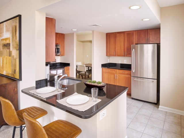 Stainless Steel Appliances | Luxury Alexandria VA Apartments | Carlyle Place