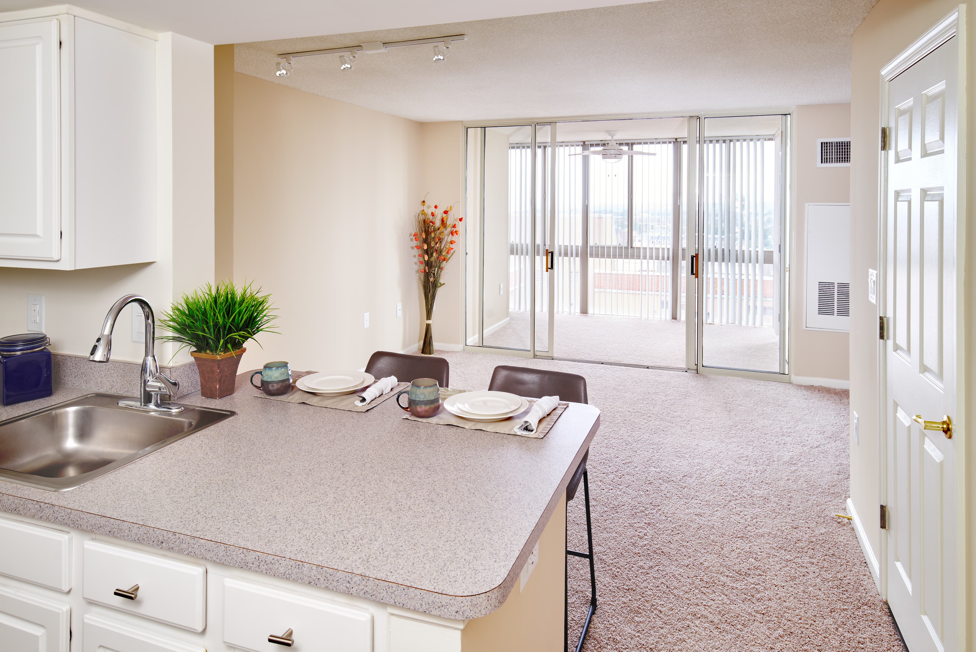 Studio With Sun Room | Meridian at Braddock Station | Alexandria VA Apartments