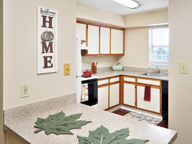 Kitchen   Affordable Apartments Leesburg VA   Evans Ridge Apartments