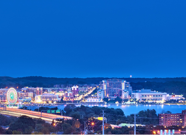View of National Harbor | Luxury Alexandria Apartments | Carlyle Place
