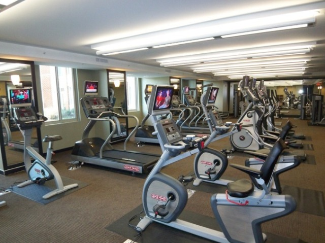 Photo of Fitness Center | Luxury Apartments Alexandria | Meridian at Eisenhower Station