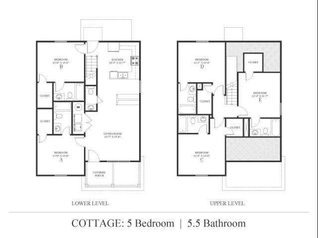 5 bedroom Cottage