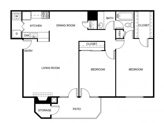 B1AR Floor Plan