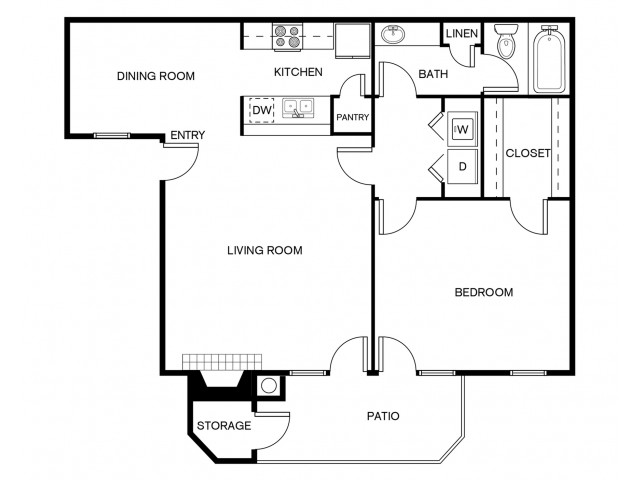 A1A Floor Plan