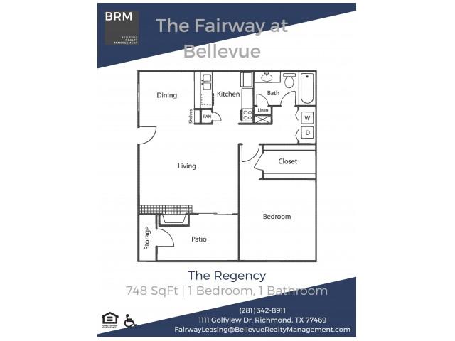 Regency Floorplan
