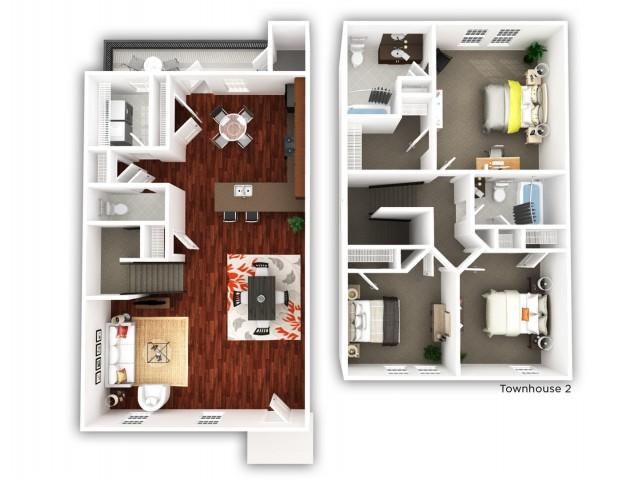 3 Bedroom_Townhome