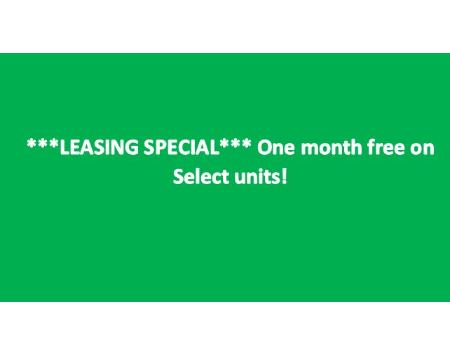 Move-in by February 28, 2021 and get one month Free!