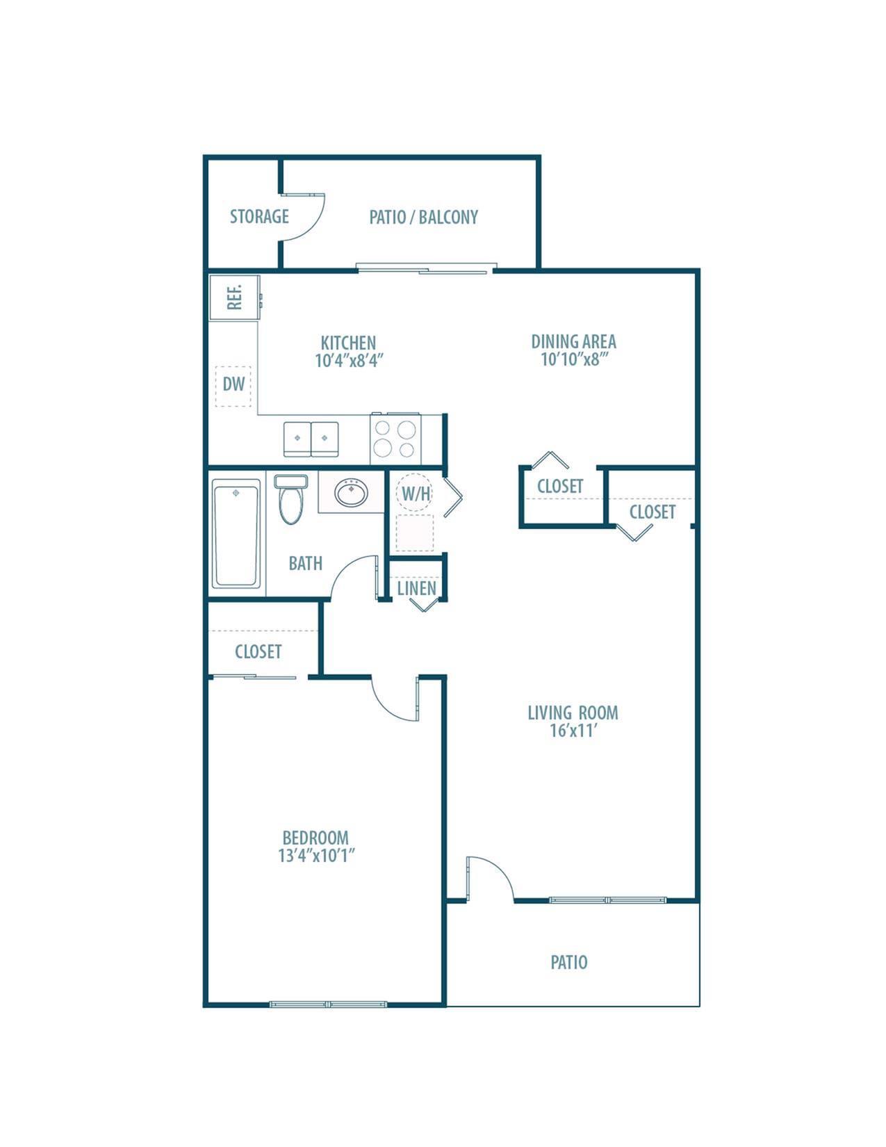 Chestnut Floorplan