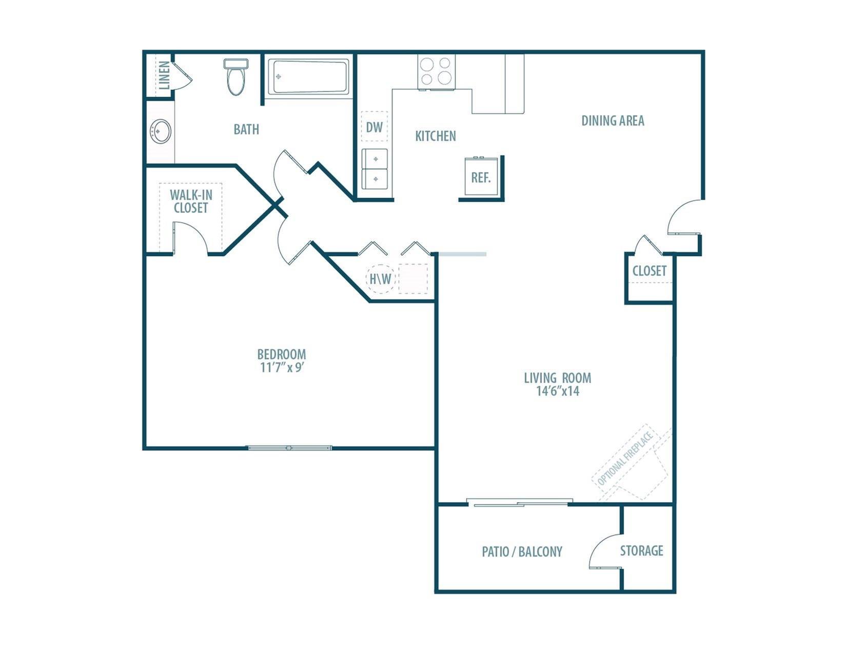 Elmwood Floorplan
