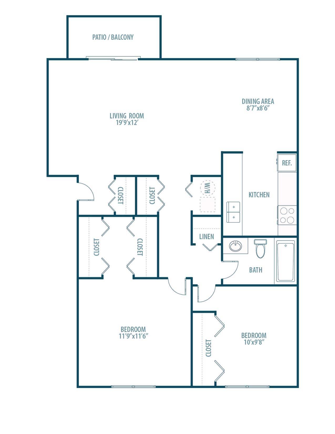 Rhodes Floorplan