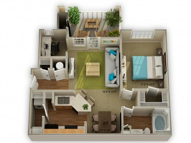 Image of The Oakwood Floor Plan