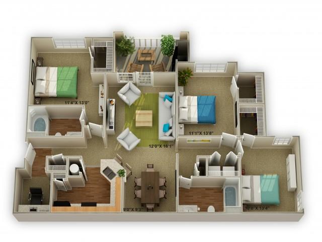 Image of The Walden Floor Plan