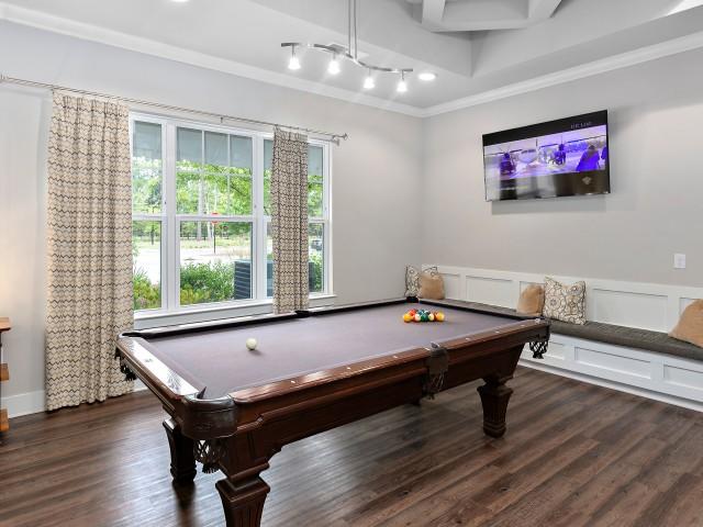 Social Room with Billiard Table