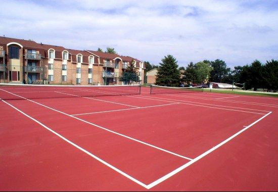 arbors of battle creek tennis courts