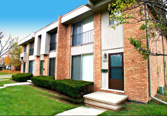 apartments, apartment front