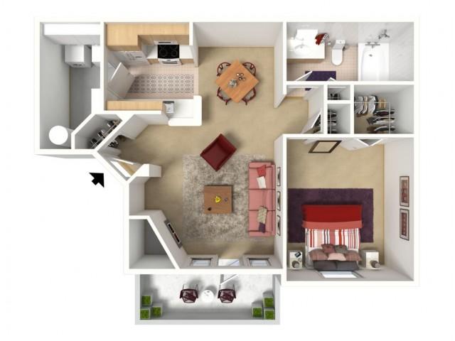 A2 710 square feet