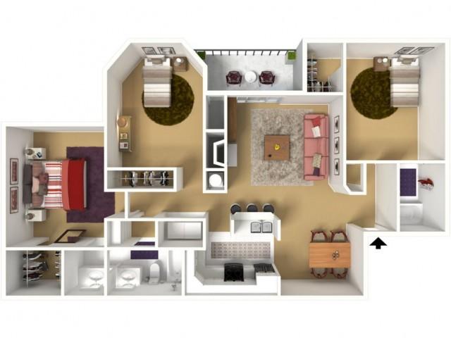 3a 3 Bed Apartment Verandas On The Green