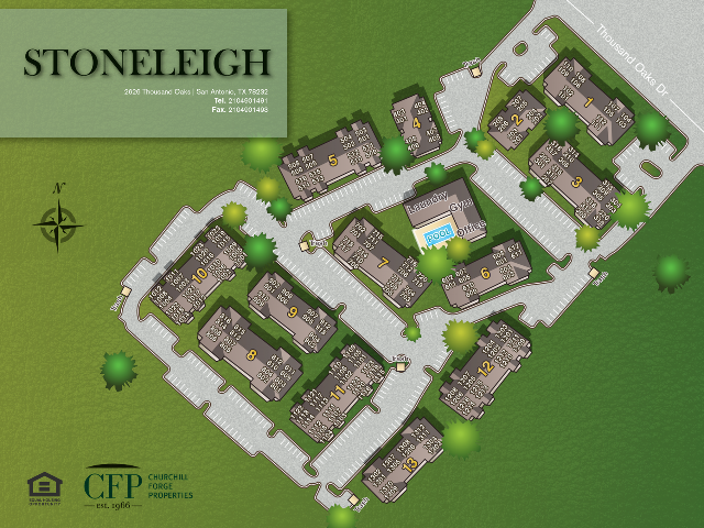 Stoneleigh Property Map