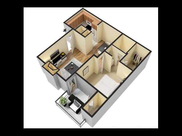 One Bedroom | 565 sqft