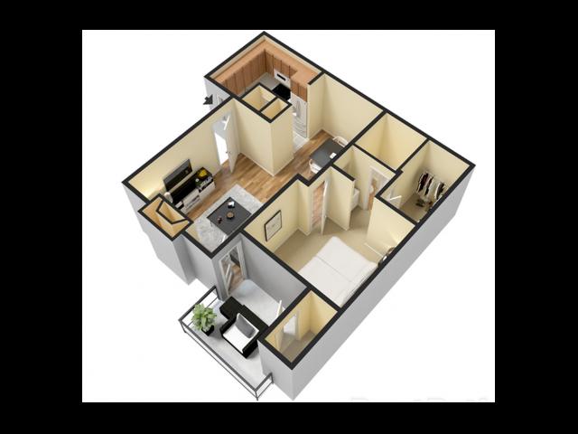 One Bedroom | One Bathroom | 665 sqft
