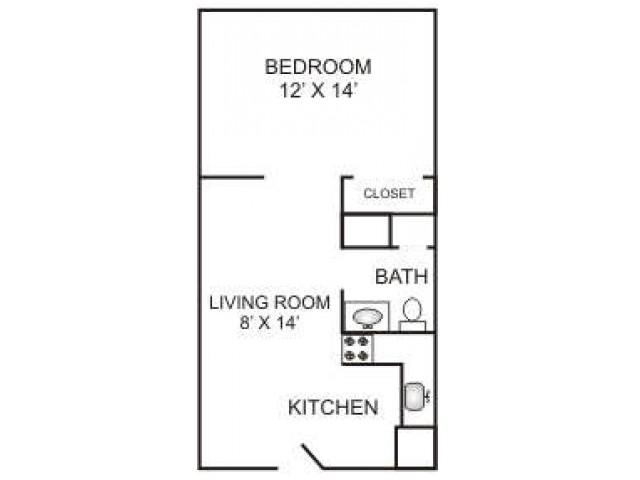 Junior One Bedroom | 400 sqft