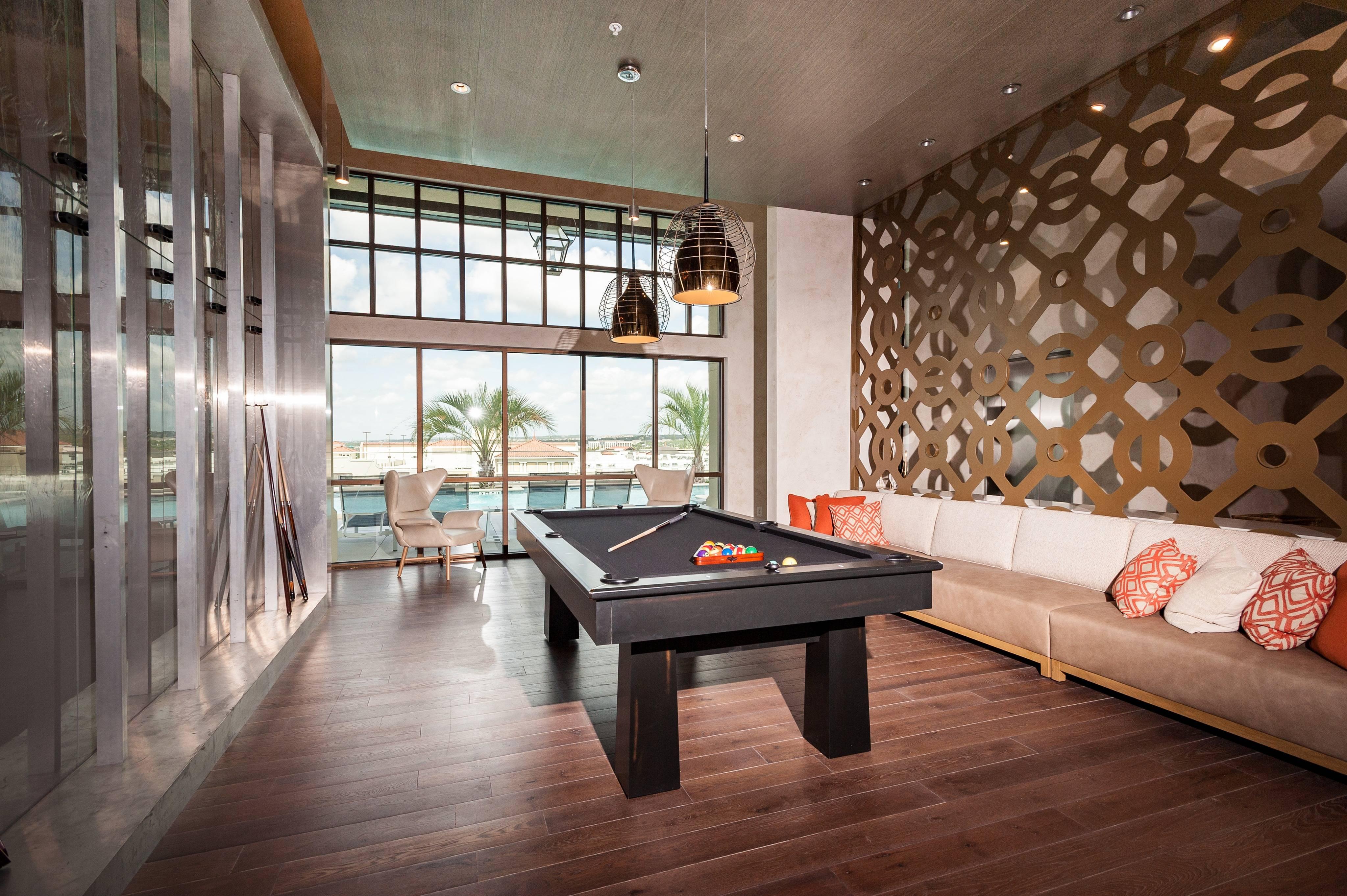 Social Room | Gourmet Kitchen | Billiards Table
