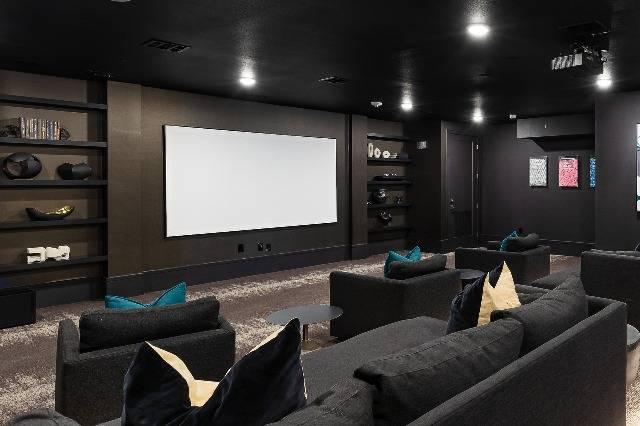 Theater room
