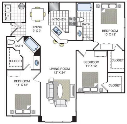 Redwood Floor Plan Image