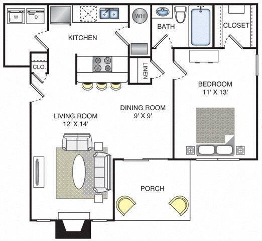 Rio Floor Plan Image