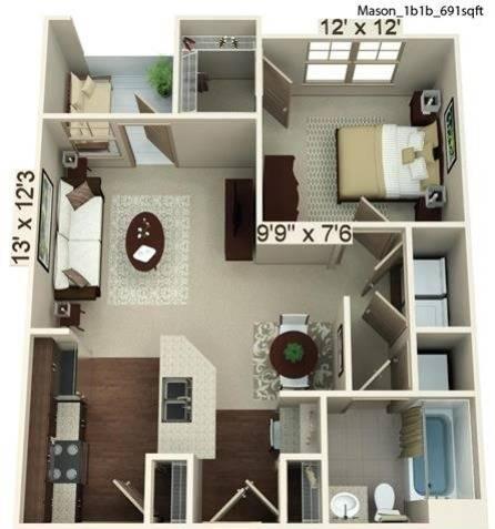 Mason Floor Plan Image
