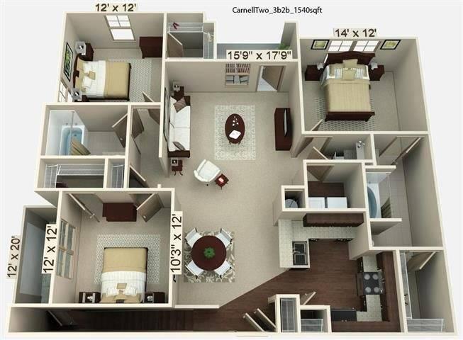 Carnell 2 Floor Plan Image