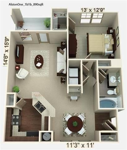 Alston Floor Plan Image