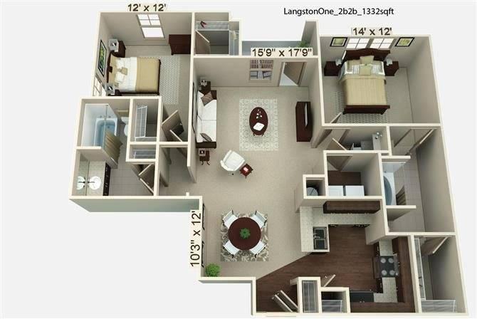 Langston Floor Plan Image