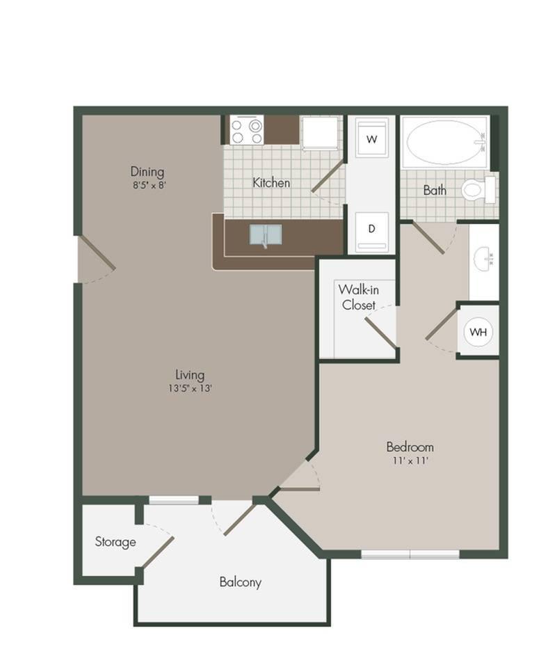 York Floor Plan Image