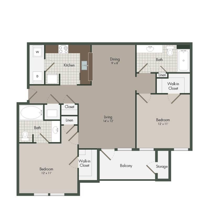 Edinborough Floor Plan Image