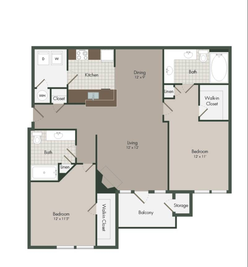 Chesterton Floor Plan Image
