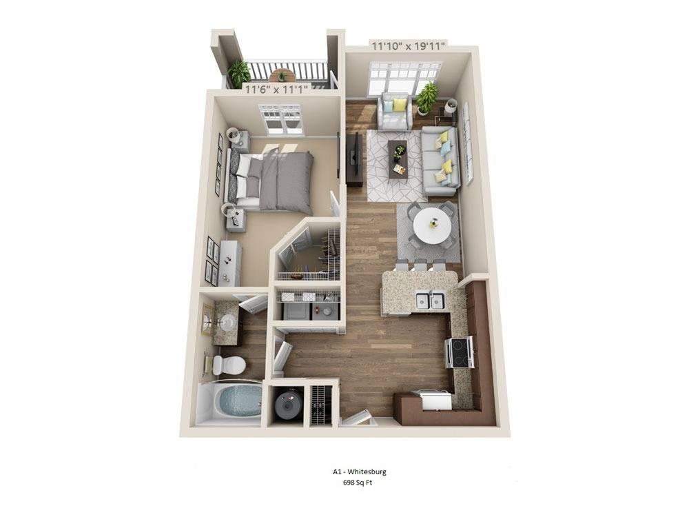 Whitesburg Floor Plan Image