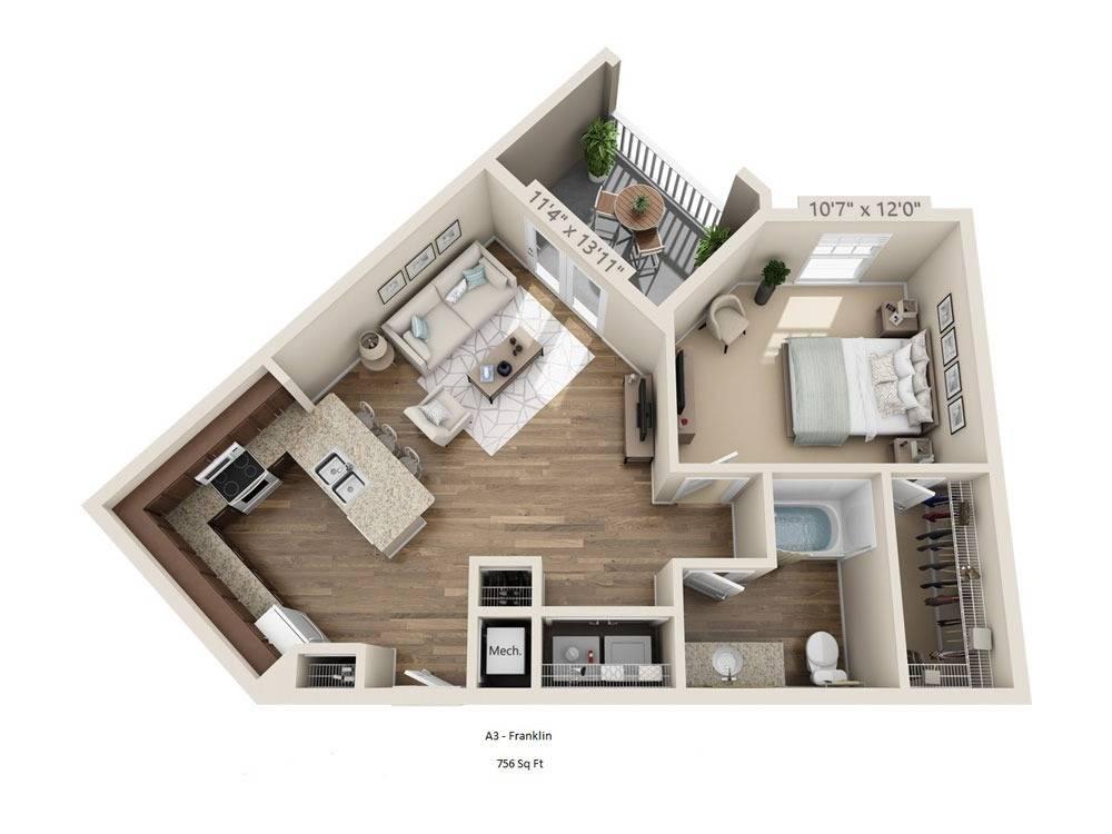 Franklin Floor Image
