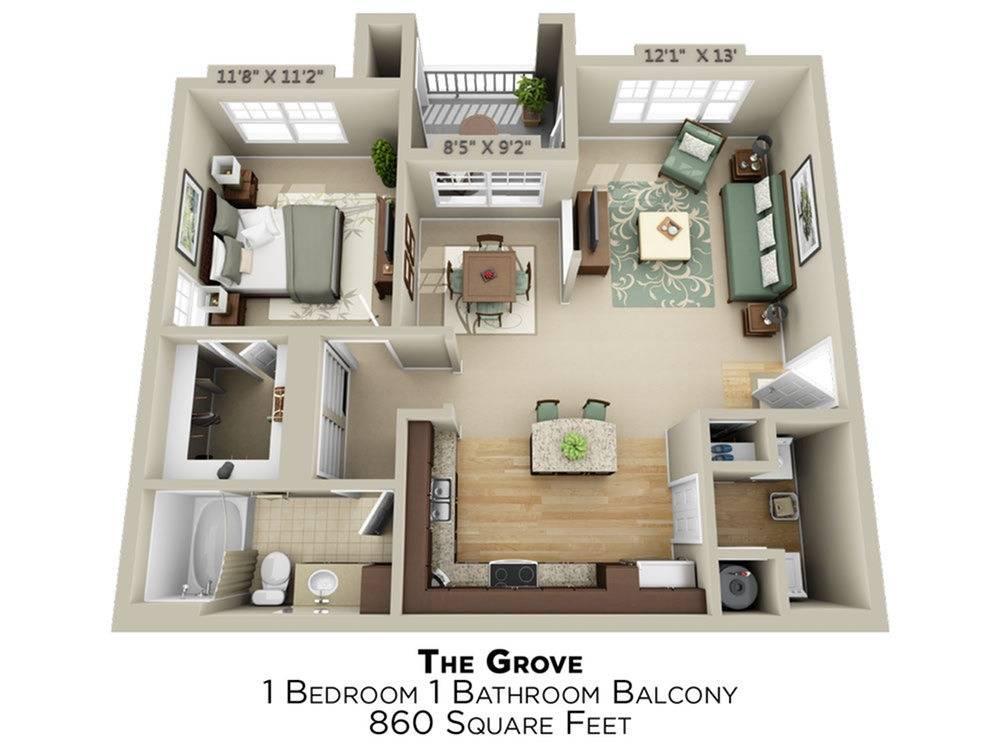 Grove Floor Plan Image