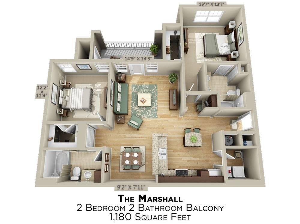 Marshall Floor Plan Image