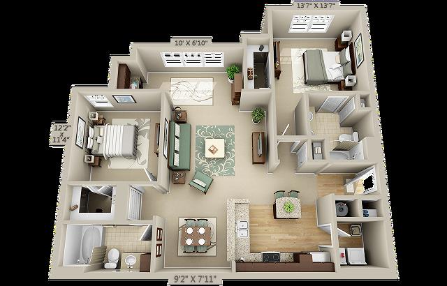 Madison Floor Plan Image