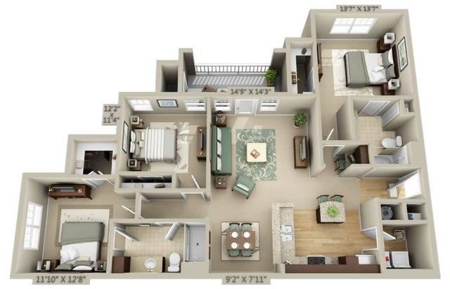 Flint Floor Plan Image