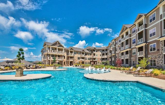 One Of Our Resort-Style Salt Water Swimming Pools